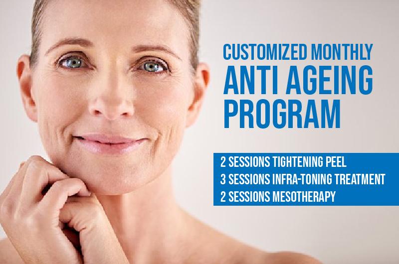Anti aging instasculpt program